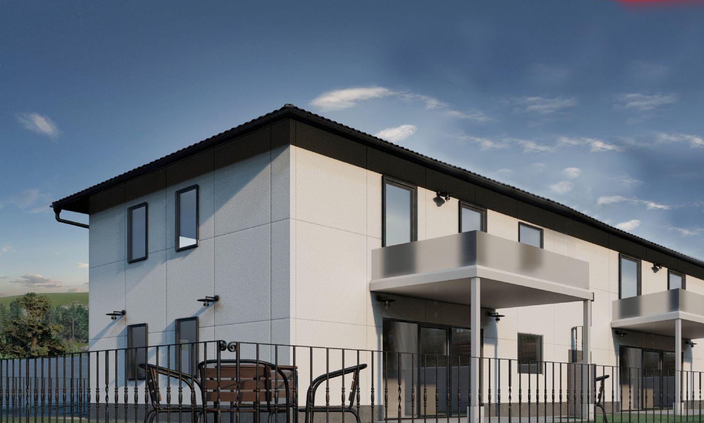 Aktion: 2 Großzügige Doppelhaushäfte 120m² mit Garten und Balkon in Kirchberg stehen noch zum Verkauf (10 km nach Mattsee)
