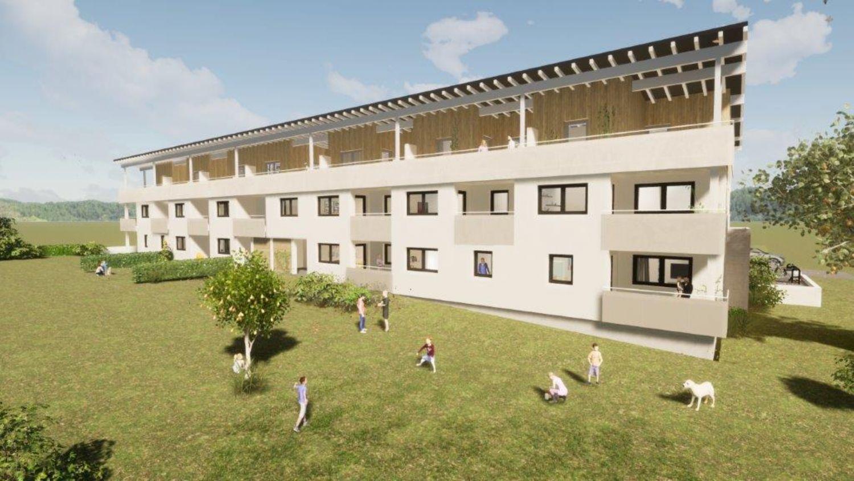 Neubauprojekt: 2-Zimmer-Terrassen-/Gartenwohnung in Franking nahe der Salzburger Landesgrenze