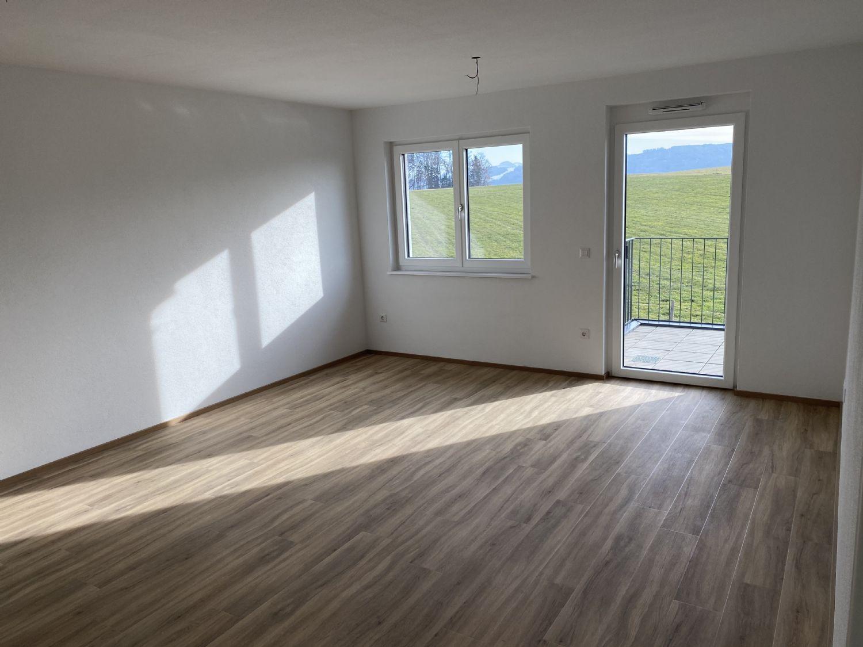 Neubau: 2 Zimmer Wohnung mit großem sonnigen Garten in Elixhausen