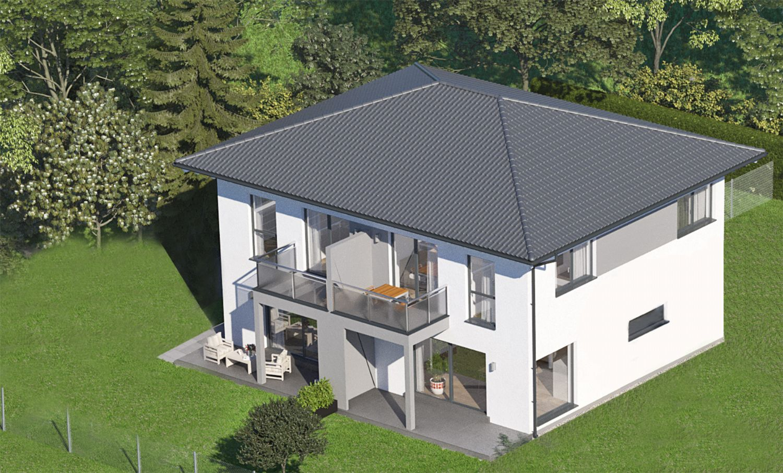 Aktion: Doppelhaushälften 102m² in St. Georgen am Fillmannsbach / belagsfertig (in 5km Entfernung zu Eggelsberg)